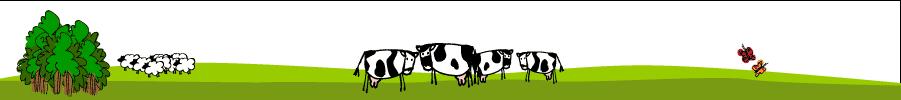 cartoon farm scene